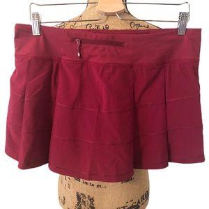 lululemon athletica Shorts - Lululemon Pace Rival Skirt (Reg) 4 way Stretch
